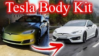 Tesla Body Kit  It's Happening   - YouTube