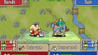 Fire Emblem - Fire Emblem (GBA / Game Boy Advance) - Episode 1 - Prologue and Chapter 1 - User video