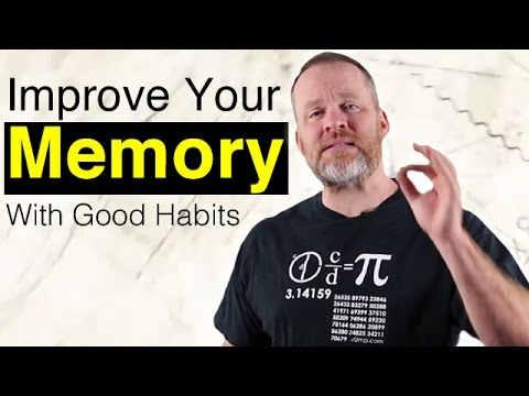 How To Improve Memory With Good Habits! - Memory Training