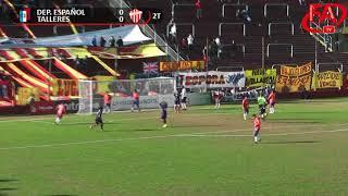 FATV 18/19 Fecha 1 - Español 0 - Talleres 1