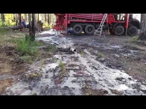 Karragullen Water Drilling with new rig part 2