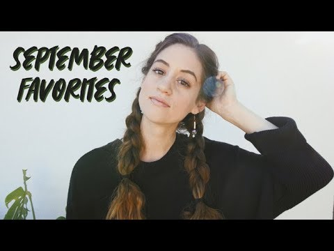 September Favorites | Natural Beauty Products & Ethical Fashion Find | Alli Cherry