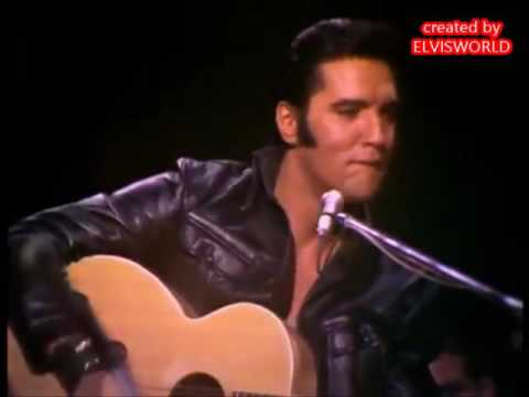 ELVIS PRESLEY, THAT'S ALRIGHT MAMA  LIVE 1968 SPECIAL