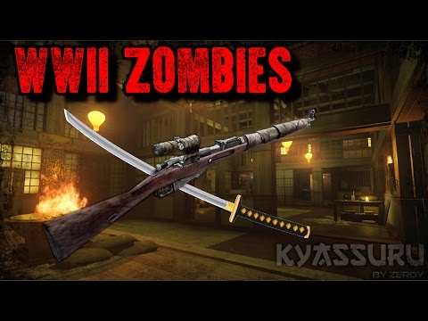 AMAZING WWII ZOMBIES: KYASSURU - WORLD AT WAR CASTLE RE-MAKE!