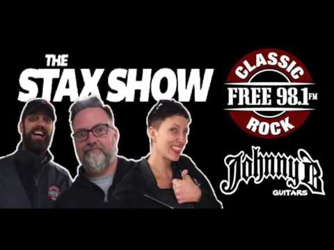 Talking about guitars on The Stax Show FREE 98.1 FM
