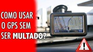como uso o GPS sem ser multado?