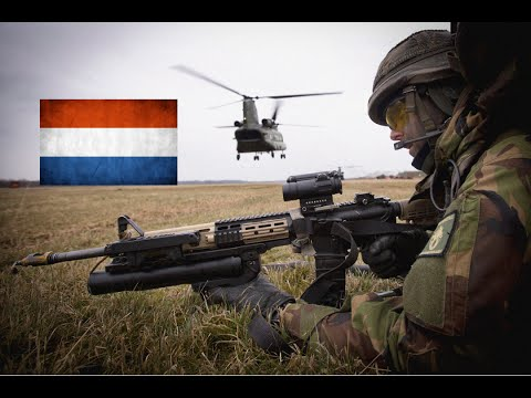 Armed forces of The Netherlands - Dutch army 2016 HD