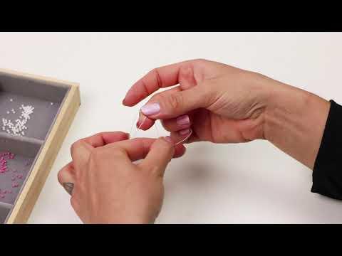 Elaboración de joyería: Creación de anillos con rocallas Miyuki ♡ DIY