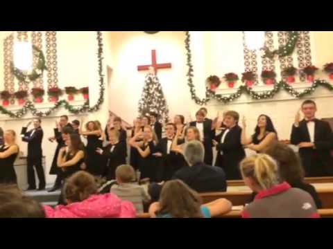 Quakertown Community High School Varsity Singers 2014: Feliz Navidad