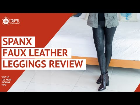 Spanx Faux Leather Leggings Review