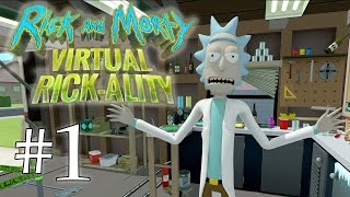 RICK ET MORTY VR #1 [Mixed Reality]