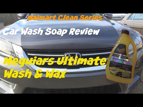 Review of Meguiars Ultimate Wash and Wax car soap