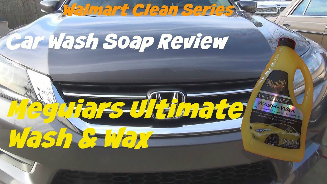 review of meguiars ultimate wash and wax car soap youtube. Black Bedroom Furniture Sets. Home Design Ideas