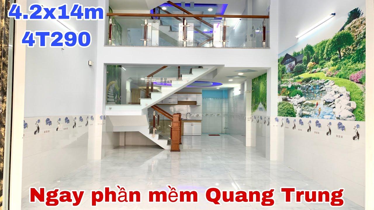 Bán nhà quận 12 #137,sát bên khu công nghệ cao phần mềm Quang Trung,1 trục ra sân bat TSN,giá hơn 4T