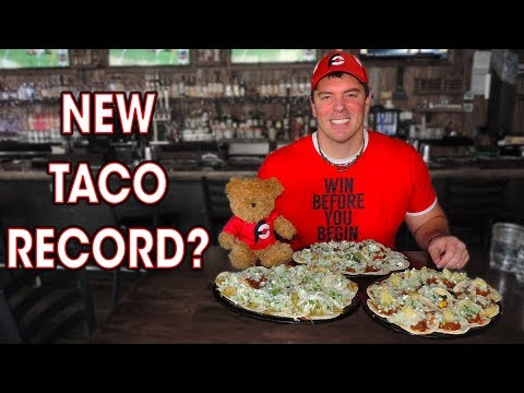 45 SOFT TACOS CHALLENGE IN 30 MINUTES??