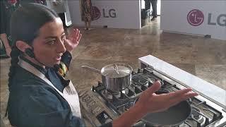 Estufas LG; para cocinar fácil, rápido y seguro.
