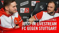 Livestream: 1. FC Köln - VfB Stuttgart | Bundesliga Home Challenge