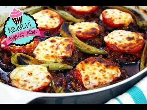 Kıymalı Bostan Patlıcan Kebabı nasıl yapılır?