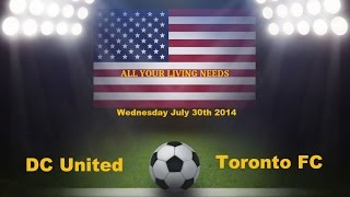 DC United vs Toronto FC Predictions Major League Soccer 2014