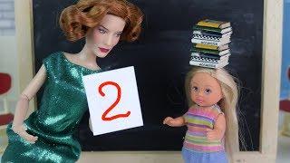 ПЕРВЫЙ УРОК ЭТИКЕТА Мультик #Барби Про школу Школа Играем в Куклы