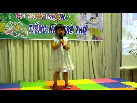 Bé Nguyễn Ngọc Tuyền Chồi 1 bài Con mèo con chuột Hội thi Karaoke Tiếng Hát Trẻ Thơ 2014