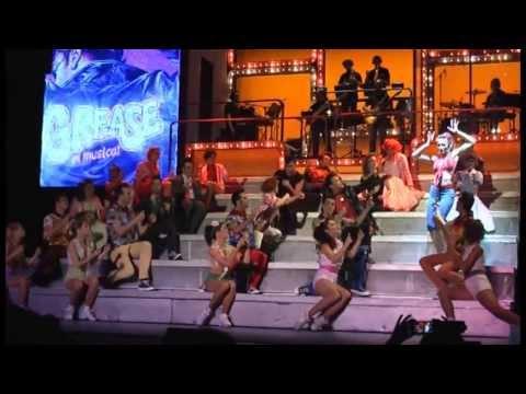 Despedida Grease El Musical en Zaragoza, el 12/10/2013