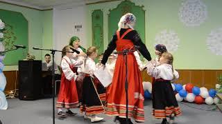 Фольклорный ансамбль Звонница - Колядовщики.(Одно из первых выступлений ансамбля.)