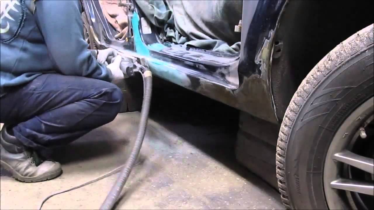 Ремонт кузова Ford Focus часть4