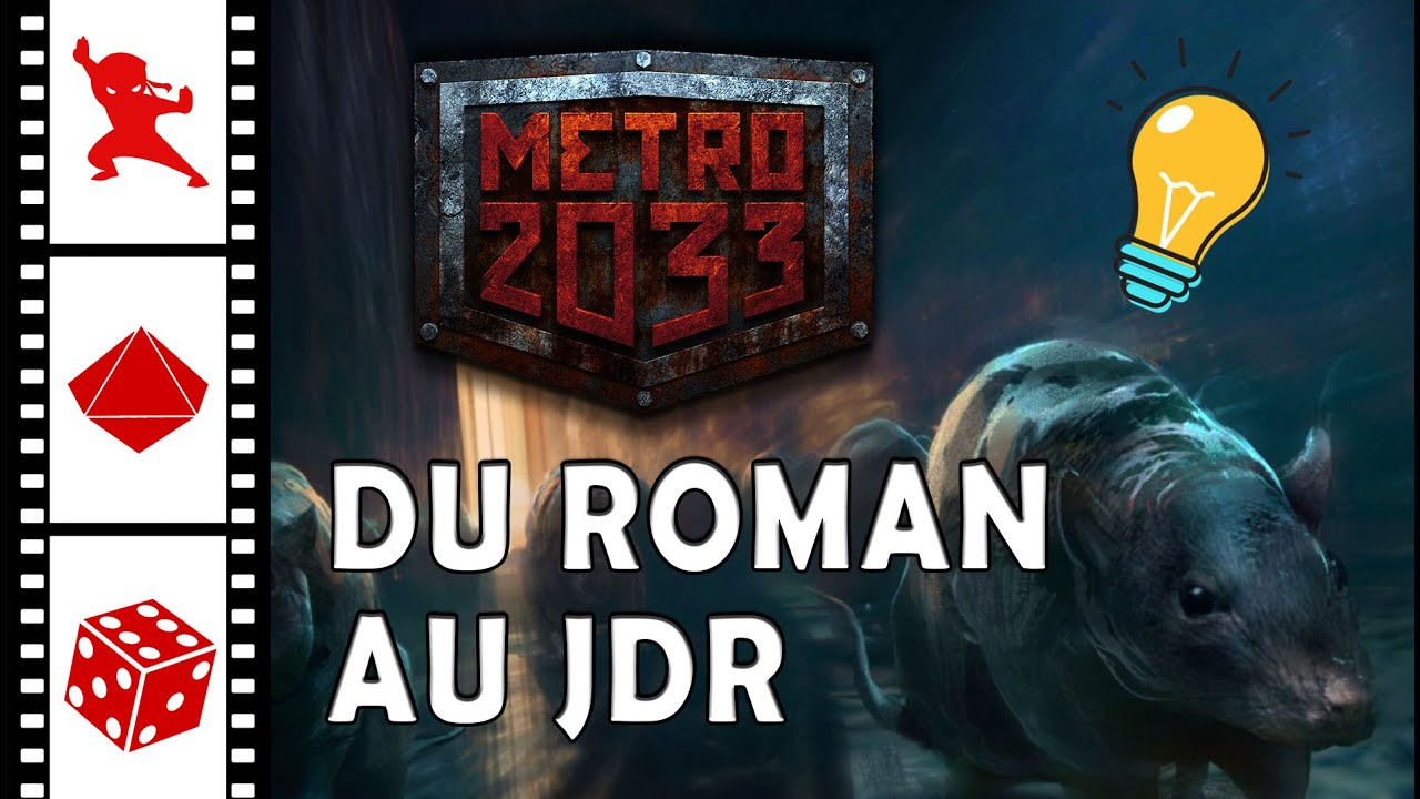 METRO 2033 : Ligne éditoriale ● MAKING OF JDR (Feat Arkhane Asylum)