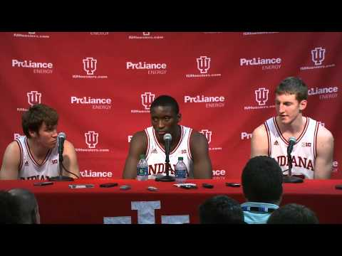 Indiana Players Press Conference - Jan. 12, 2013