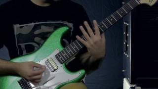 Does it Djent? Cheap Fender Squier Stratocaster Guitar