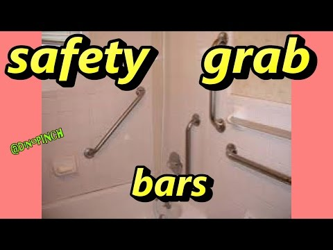 mount towel or safety bars any bathroom surface