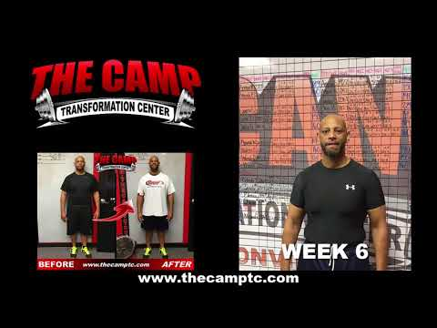 Jacksonville FL Weight Loss Fitness 6 Week Challenge Results - Marvin T.