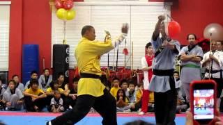 Master Sifu Xing Wei /  Shaolin KungFu Chan Las Vegas,USA / Needle Through Glass
