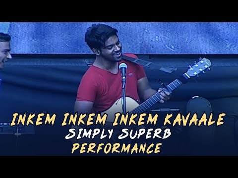 Awesome Live Performance For Inkem Inkem Inkem Kaavaale Song @ Rowdy Brand Launch | Manastars