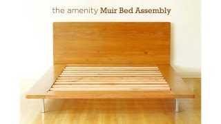 Amenity Muir Platform Bed Assembly