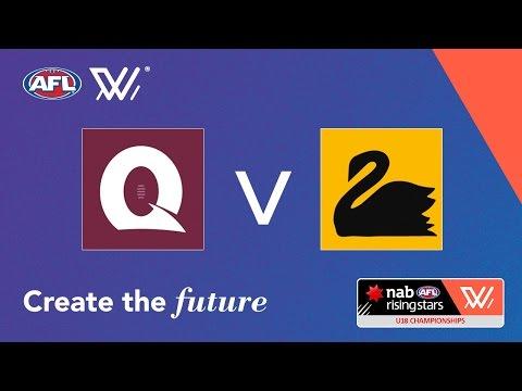 Queensland vs Western Australia - NAB AFL Women's Under 18 Championships