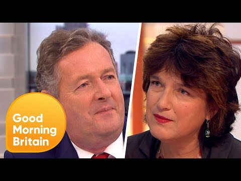 Piers Morgan Challenges Professor Calling for Contact Sport Ban in Schools  Good Morning Britain