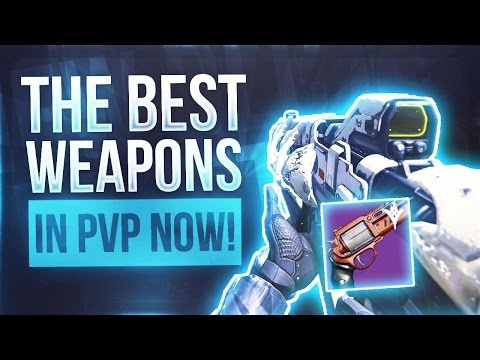 Destiny THE TOP LEGENDARY WEAPONS IN PVP - Destiny The Best Weapons To Use In Crucible