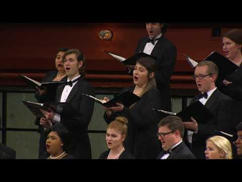 UNT A Cappella Choir: Herbert Howells - Like as the hart desireth the waterbrooks
