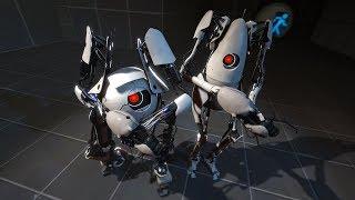 Cei mai destepti roboti - puzzle cu Gabriela | Portal 2