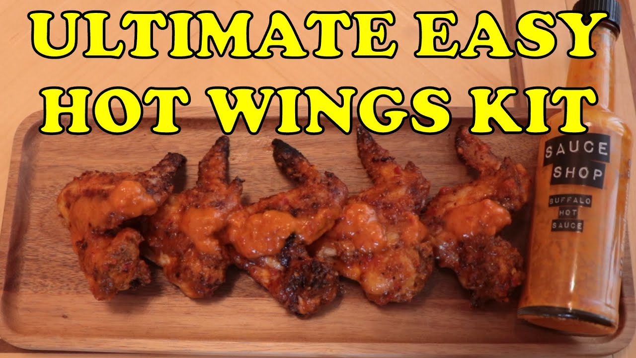 Ultimate Easy Buffalo Hot Wings Kit from Sauce Shop