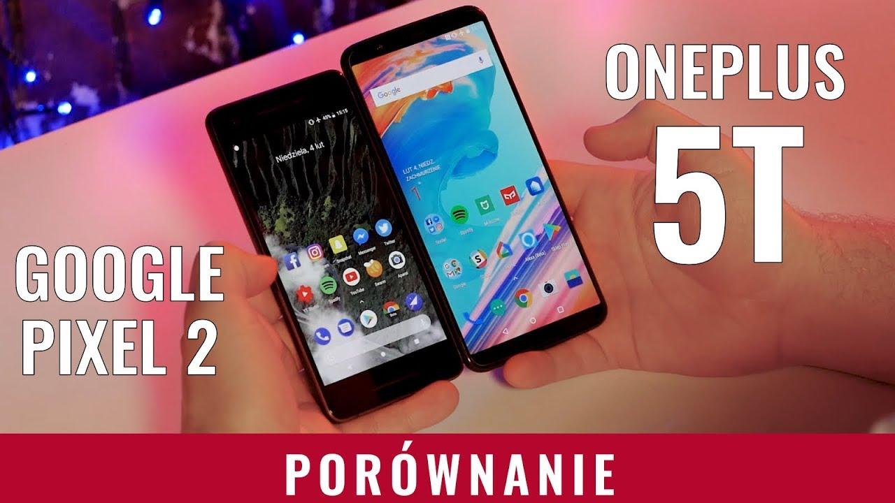 66787bf2c3aee Google Pixel 2 vs OnePlus 5T - porównanie, test - YouTube