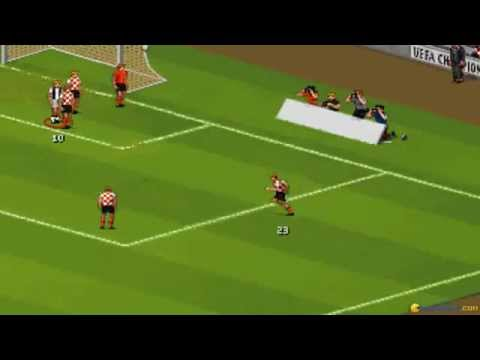 UEFA Champions League gameplay (PC Game, 1995)