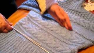 Как вязать свитер! Вяжем свитер спицами - обучающие уроки
