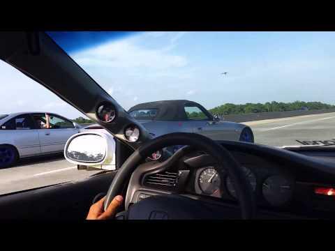 Shitbox D16 turbo vs AP1 S2000