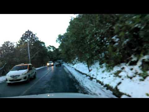 Subida a chipinque nevada diciembre 2017