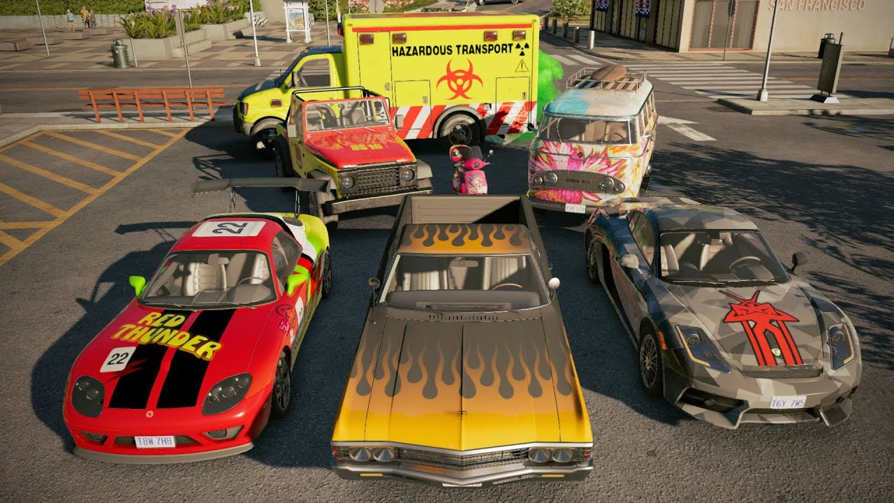 Special Cars In Watch Dogs