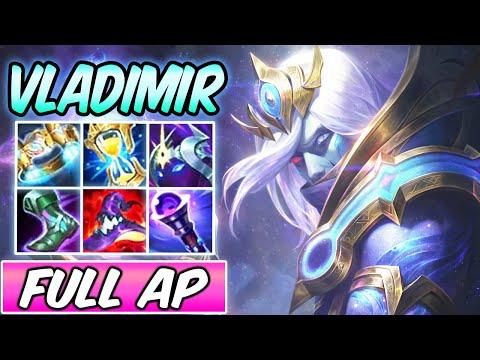 COSMIC DEVOURER VLADIMIR MID NEW SKIN GAMEPLAY FULL AP S+ | Best Build & Runes | League of Legends