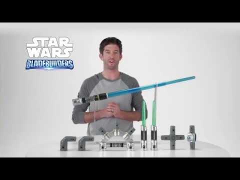 Star Wars Episode VII - Bladebuilders Jedi Master Lightsaber Product Demo